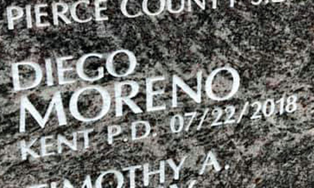 State awards Medal of Honor posthumously to Officer Diego Moreno