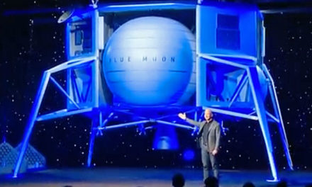 Bezos: Blue Origin will return to the Moon, 'this time to stay'