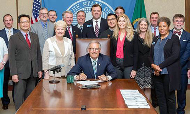 Keiser legislation to create additional airport capacity signed by Gov. Inslee