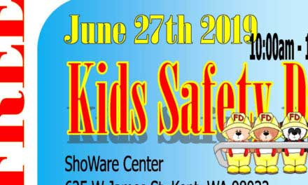 Kid's Safety Day will be Thursday, June 27