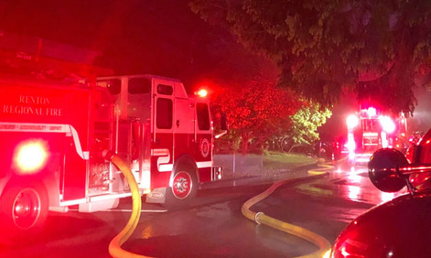 Fire strikes mobile home in Kent early Thursday