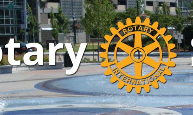 Erik Olsen sworn in as new Kent Rotary President