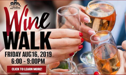 KDP's August Wine Walk will be Friday, Aug. 16