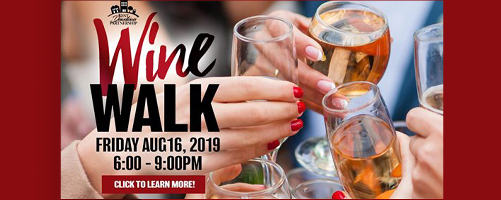 Historic Downtown Wine Walk will be this Friday, Aug. 16