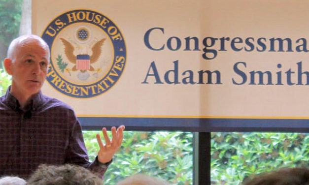 Congressman Adam Smith holding Town Hall in Kent Sat., Aug. 17