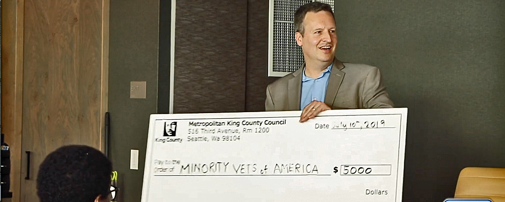 King County grants $5,000 to Minority Veterans of America