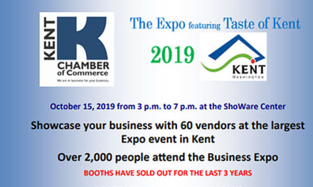 SAVE THE DATE: Kent Chamber's 2019 Business Expo will be Oct. 15