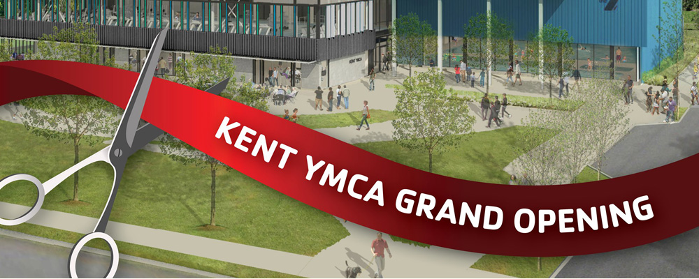 Kent YMCA Grand Opening will be Saturday, Sept. 14