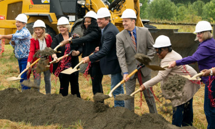 Construction breaks ground on Lower Russell Levee Setback
