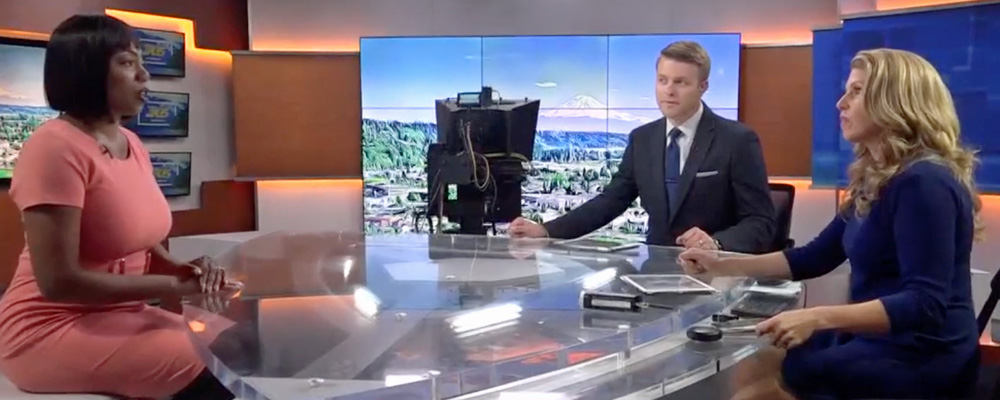 VIDEO: Kent Chamber CEO Zenovia Harris interviewed by KING5