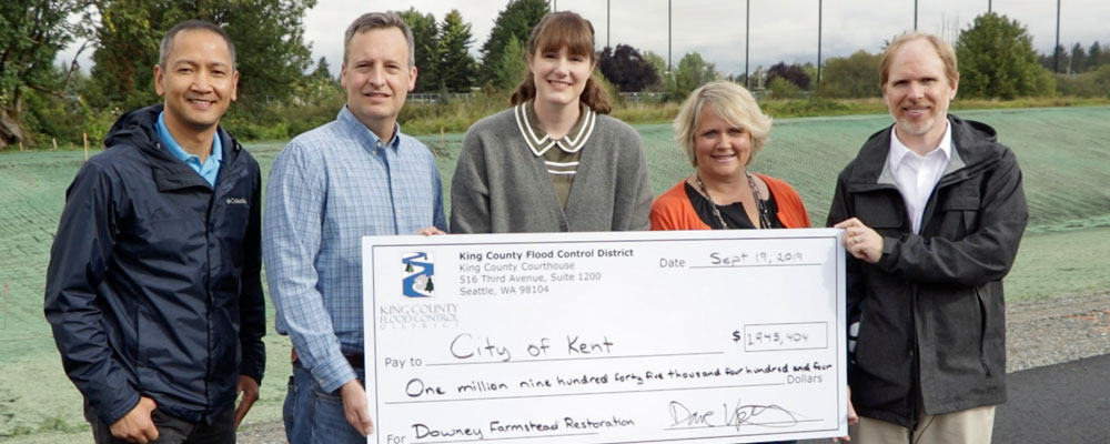 Flood Control District funds major salmon habitat project in Kent