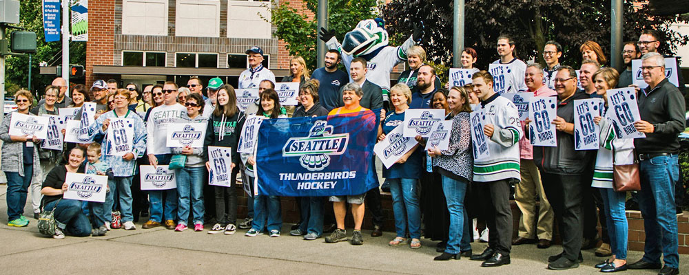 Flag Raising for Seattle Thunderbirds new season will be this Friday