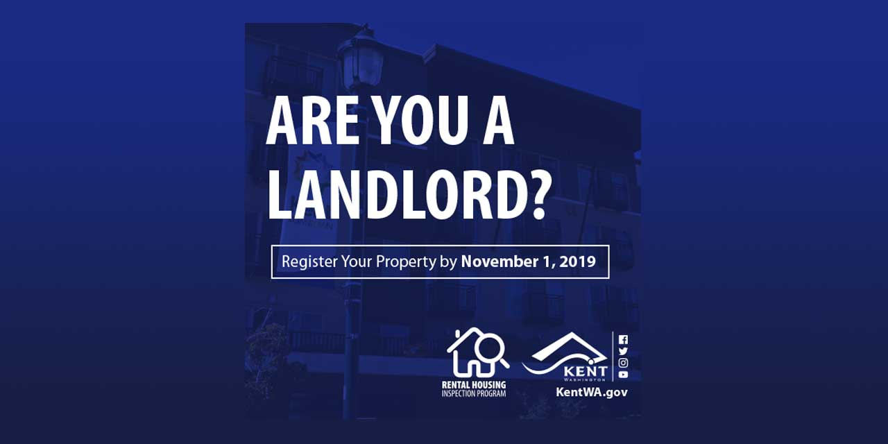 REMINDER: Rental property owners need to register by Friday, Nov. 1