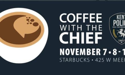 Have 'Coffee with the Chief' on Thursday morning, Nov. 7