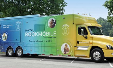 Digital Bookmobile will stop at Panther Lake Library on Tues., Oct. 29