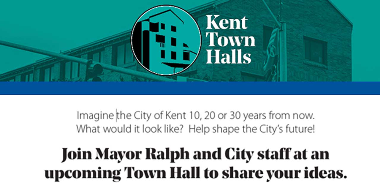 REMINDER: Final Kent Town Hall will be this Thursday, Oct. 24