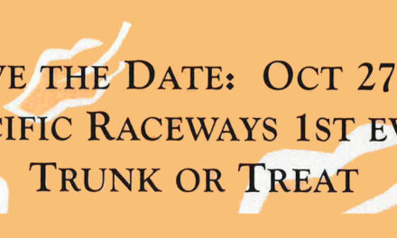 Pacific Raceways holding first-ever 'Trunk or Treat' on Sunday, Oct. 27