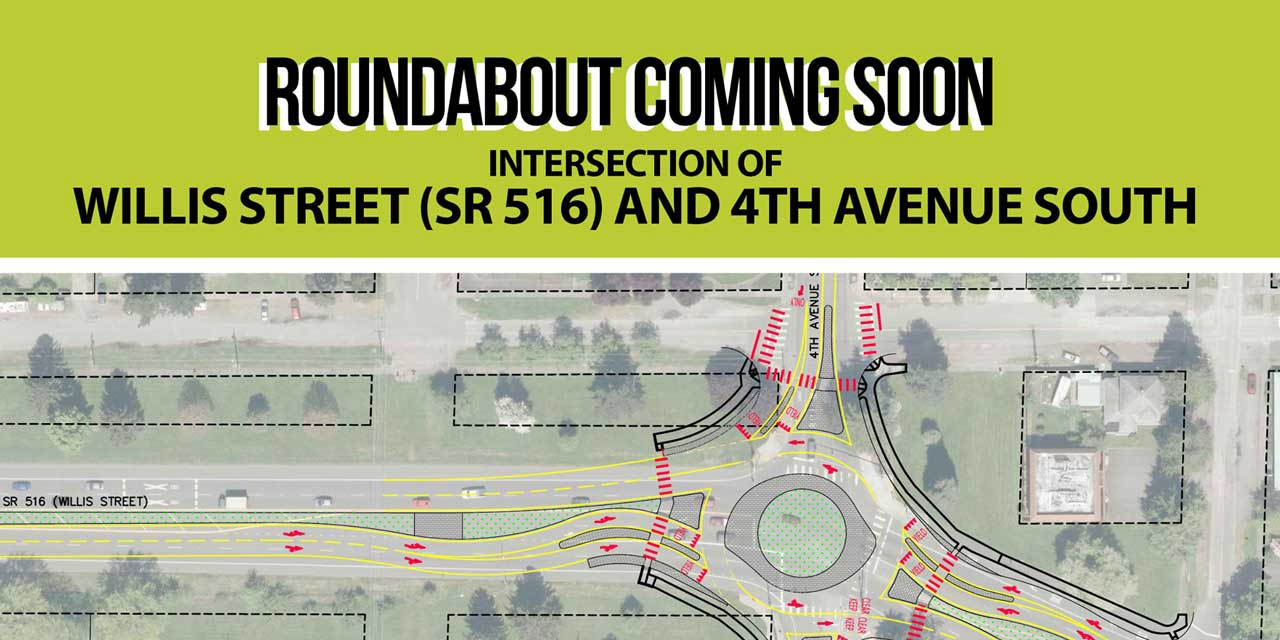 Open House for upcoming roundabout at 4th & Willis will be Thurs., Nov. 7
