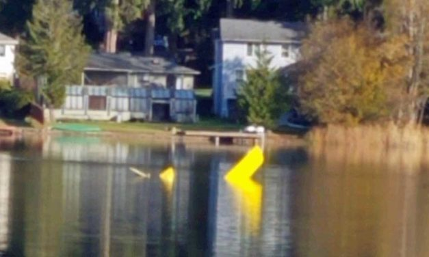 Small airplane crashes into Lake Morton Monday afternoon