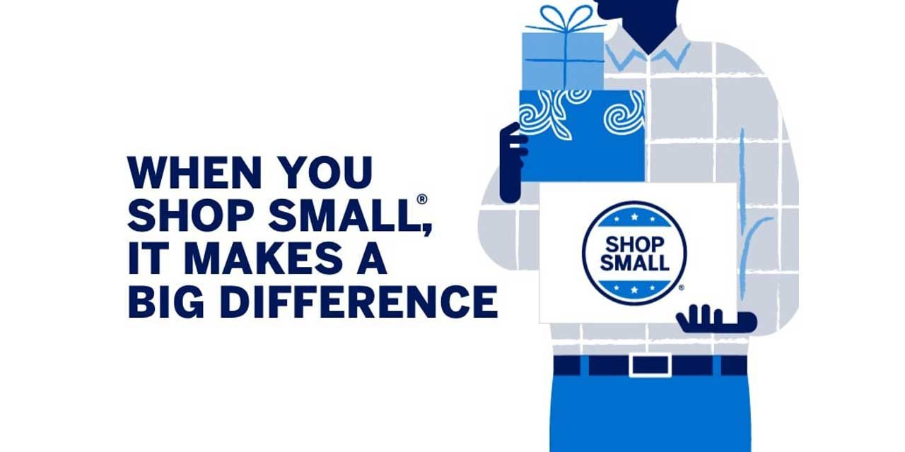 Small Business Saturday will be Saturday, Nov. 30