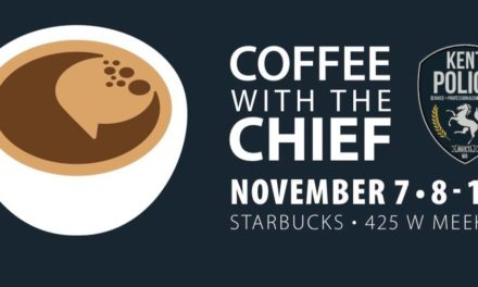 REMINDER: Have 'Coffee with the Chief' this Thursday, Nov. 7