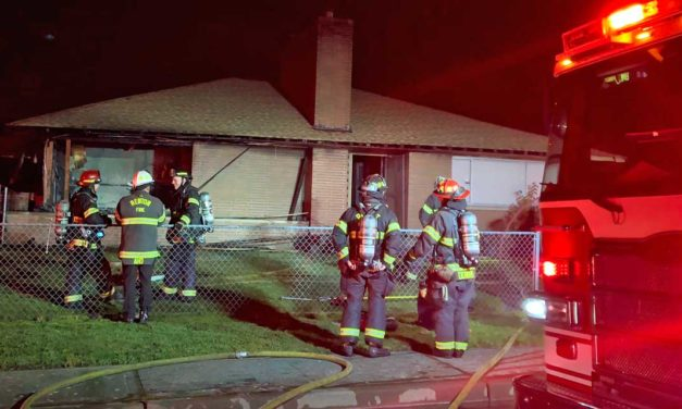 Fire burns house in Kent Tuesday night