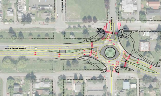 City holding Open House on new roundabout at 4th & Willis on Thurs., Jan. 9