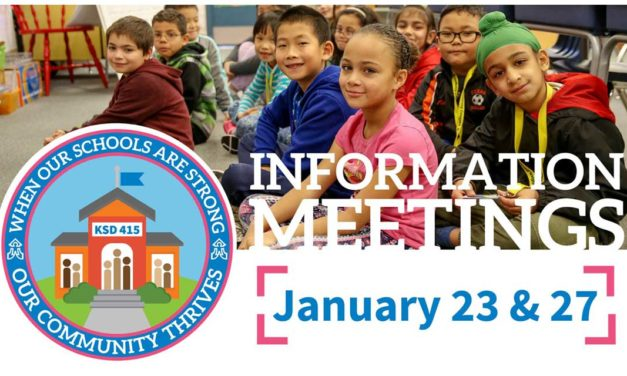 Kent School District holding Levy Informational Meeting on Thurs., Jan. 23
