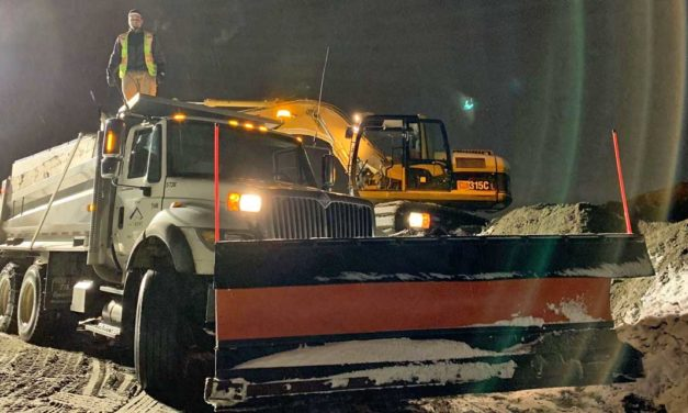 During recent 'non-event' weather, Kent Public Works kept ~200 miles of roads open