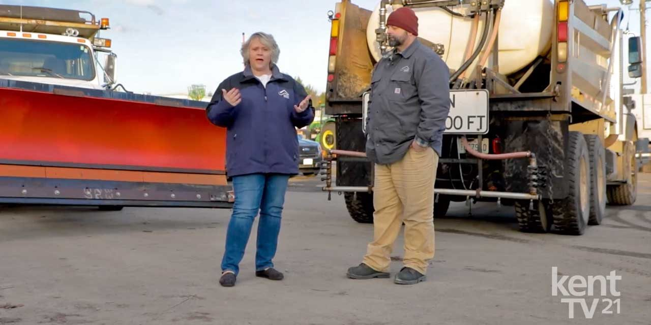 VIDEO: Kent Public Works tells Mayor Ralph that they're ready for snow