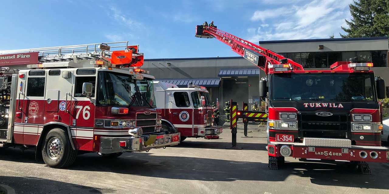Fire hits commercial paper shredding facility in Kent Thursday