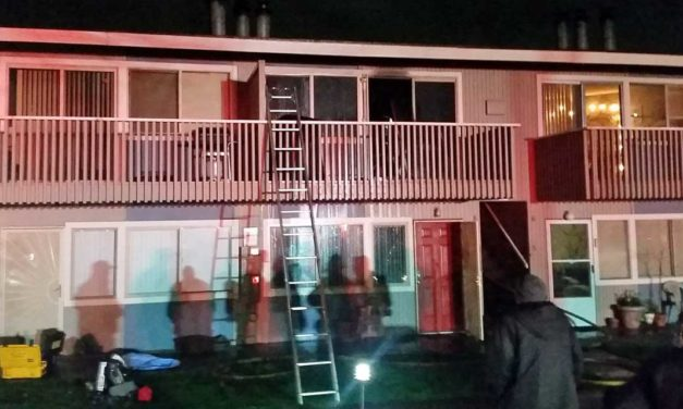 One injured in condo fire on Kent's east hill Wednesday night