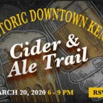 Tickets on sale now for Kent Downtown Partnership's 'Cider & Ale Trail' on Fri., Mar. 20