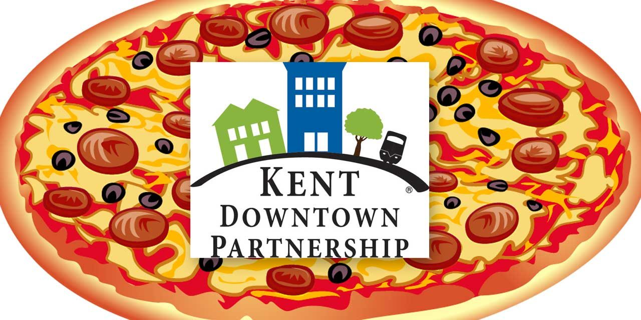 Eat pizza and support the Kent Downtown Partnership on Sunday, Feb. 16