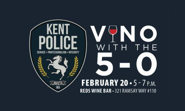 Kent Police Department's 'Vino With the 5-0' is Thursday night