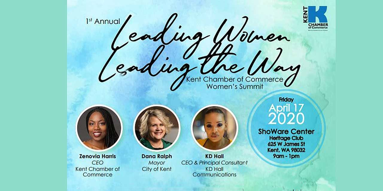 Kent Chamber's 'Leading Women Leading the Way Summit' will be Friday, April 17