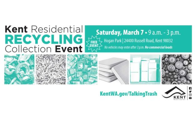 FREE Spring Recycling Event will be Saturday, March 7 at Hogan Park