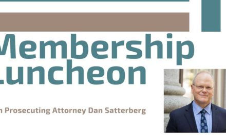 REMINDER: King County Prosecutor Dan Satterberg will speak at chamber event Thursday