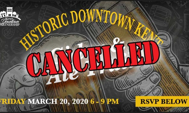 Kent Downtown Partnership cancels its March 20 Cider and Ale Trail