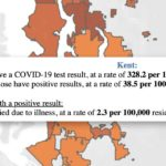 New COVID-19 data map shows 3 deaths, 50 positive cases so far in Kent