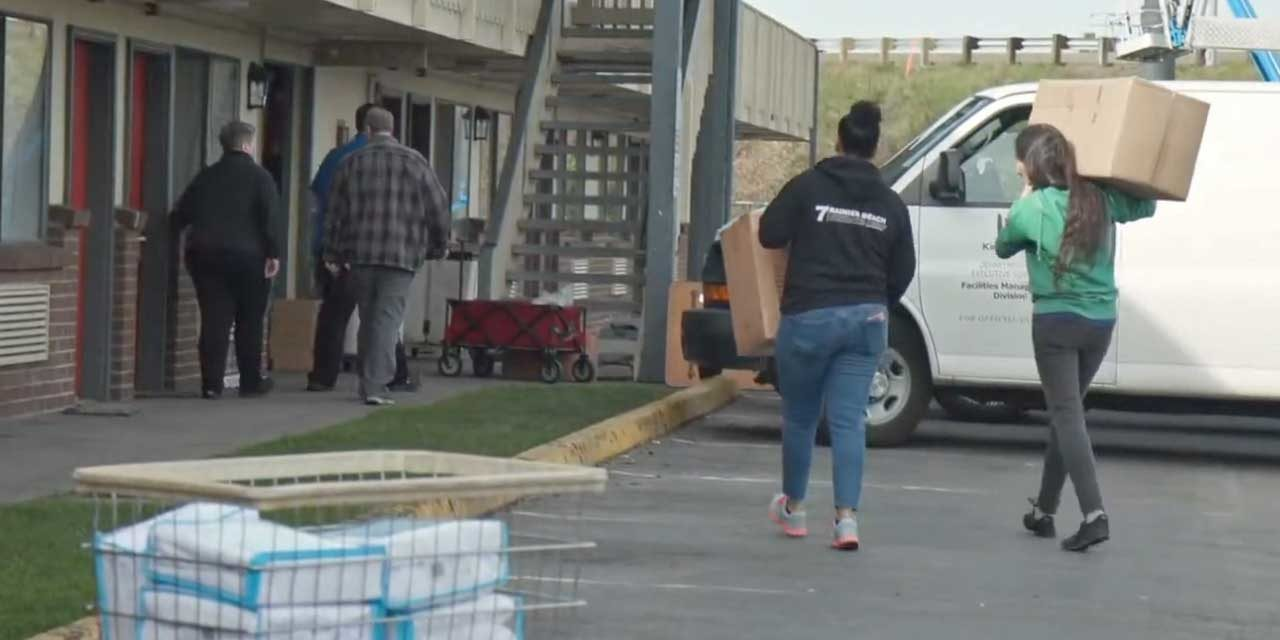VIDEO: Here's an inside look at the county's quarantine facility in Kent