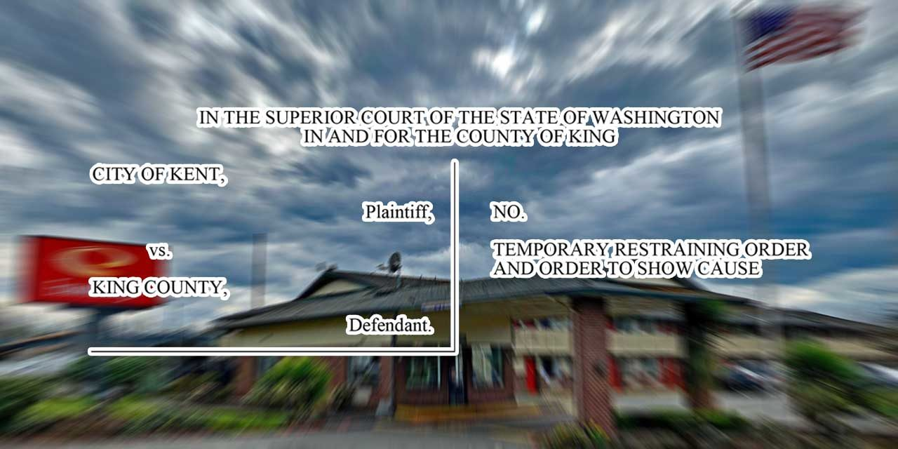FOLLOWUP: Court Commissioner rejects city's restraining order against county