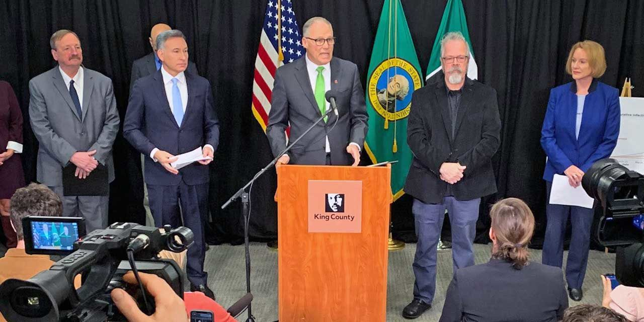 Gov. Inslee will shutdown all restaurants & bars; limit size of gatherings