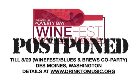 UPDATE: Saturday's Poverty Bay Wine Festival postponed due to coronavirus concerns