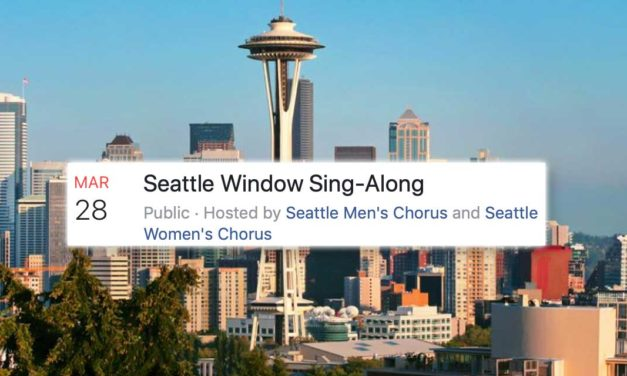 Sing loud, Kent! Join the 'Seattle Window Sing-Along' Saturday night at 7 p.m.!