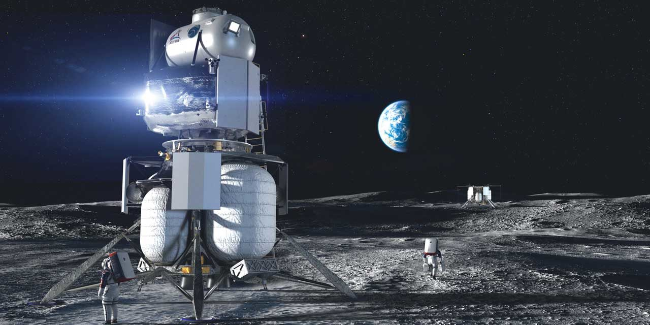 NASA selects Kent's Blue Origin to return humans to the moon