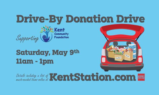 Kent Community Foundation's 'Drive-By Donation Drive' will be Saturday, May 9