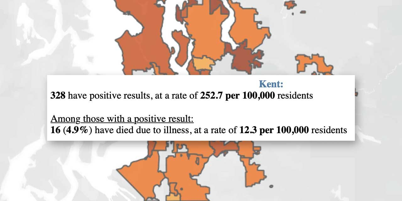 COVID-19 UPDATE: 16 deaths, 328 positives in Kent as of Friday, April 17