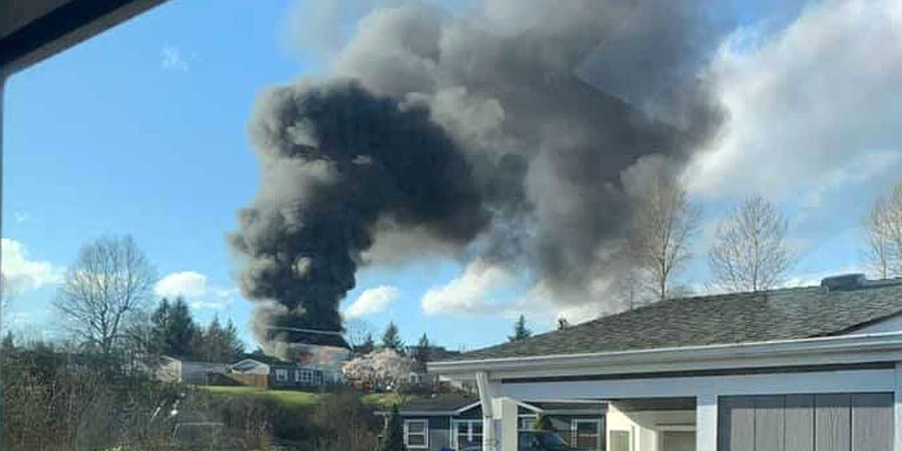 House fire in Kent Thursday displaces family of five