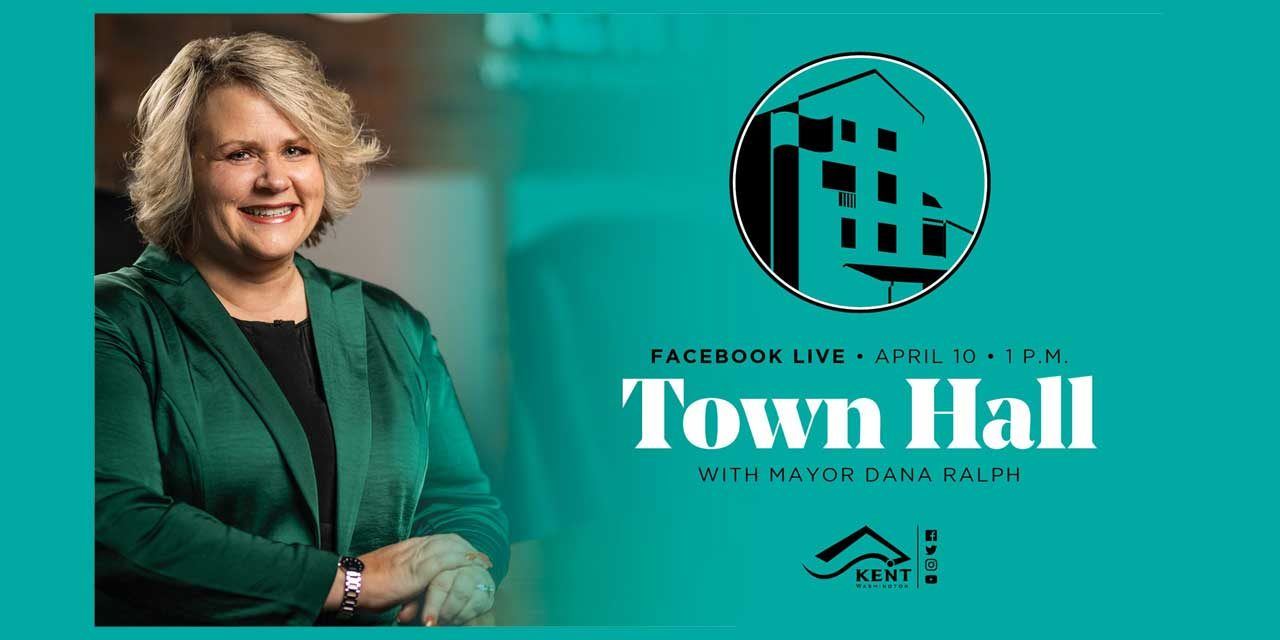 Kent Mayor Dana Ralph will hold 'virtual Facebook Town Hall' this Friday, April 10